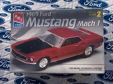 1969 Ford Mustang Mach 1 Model Kit 1:25 (New in Box, AMT/Ertl)