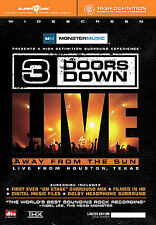 3 Doors Down - Away From The Sun (DVD, 2005, Includes Audio CD)