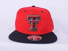 TEXAS TECH RED RAIDERS NCAA ADULT 7 1/4, 7 3/8 SIZE FITTED CAP  (H-47)
