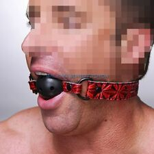 Open Mouth Ball Breathable Oral Stuffed Slave Mouth Ball Oral Restraints Harness