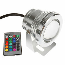 10W RGB Underwater LED Spot Light Flood Light Color Lamp IP68 under water Light