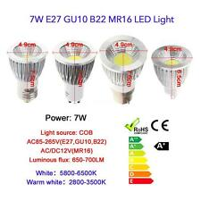 MR16/GU10 5W/7W/9W COB Spot Light Lamp Bulb High Power Energy Saving Hot A3I9