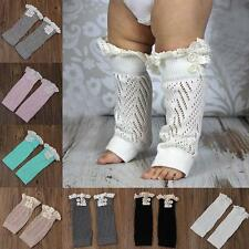 Toddler Baby Girl Boy Warmer Leggings Long Socks Leg Warmers Knee Pad Legs Boots