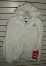 THE NORTH FACE WOMENS OSO HOODIE FLEECE JACKET -#ARHB- TNF WHITE-  M, L, XL