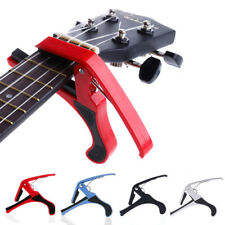 New Acoustic Electric Guitar Capo Trigger Change Quick Clamp Key