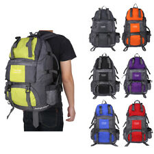 Outdoor Backpack Hiking Bag Camping Travel Water Resistant Pack Mountaineering