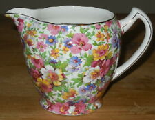 James Kent Du Barry Dubarry Chintz Jug Pitcher Vintage England Old Foley Creamer