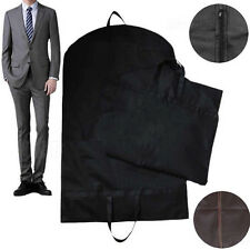 1X Suit Dress Coat Garment Storage Travel Carrier Bag Cover Hanger Protector New