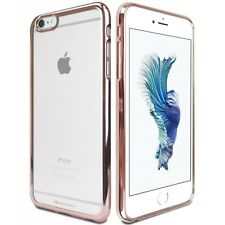 Genuine MERCURY Goospery Rose Gold Ring Jelly Case Cover For Apple iPhone 6/6s