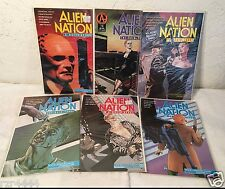 Alien Nation Mixed Lot A Breed Apart The Skin Trade Adventure Comics