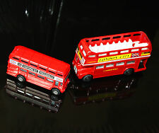 London Bus Red Bus Die Cast Bus London Red Bus Metal Bus Toy Double Decker Bus B