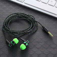New Stereo In-Ear Earphone Headphone Headset Earbuds 3.5mm For iPhone Samsung P
