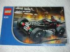 LEGO Racers 8381 Exo Raider Racecar INSTRUCTIONS BOOKLET ONLY