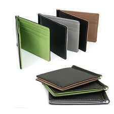 Hot Men Wallet Card Coin Purse Pockets Bifold Money Clip Leather Holder Wallets