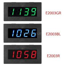 4 LED Digital Frequency Tachometer Car Motor Speed Meter RPM Measurement E4U3