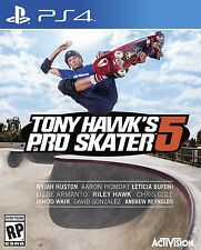 Tony Hawk's Pro Skater 5 USED SEALED (Sony PlayStation 4, 2015)