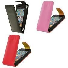 Color Wallet Pouch Leather Holder Flip Case Cover For Apple iPhone 4S 4 4G