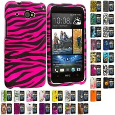 For HTC Desire 601 Zara Hard Design Matte Rubberized Skin Case Cover Accessory