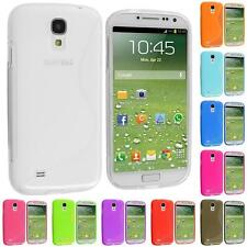 For Samsung Galaxy S4 SIV i9500 Color S-Line TPU Premium S-Shape Skin Case Cover