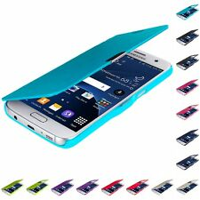 For Samsung Galaxy S7 Magnetic Stylish Slim Flip Wallet Executive Case Cover