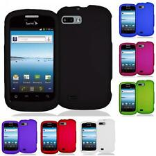For ZTE Fury N850 / Director Color Hard Snap-On Rubberized Case Cover Accessory