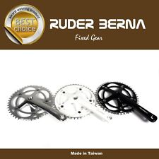 Bicycle Crank Set 46T For Fixed Gear Single Speed Fixie Track Bike Taiwan Made