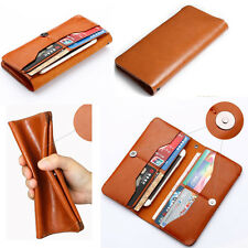 Women Leather Clutch Purse Wallet Long Card Holder Handbag Phone Bag