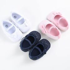 Toddler Newborn Kids Soft Lace Princess Shoes Baby Girl Casual Cotton Prewalker