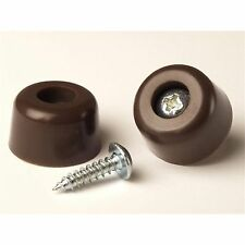 TIC SCREW ON BUMPER 20Pcs PLASTIC, Protects Surfaces From Damage -13, 19 Or 22mm