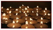 Quality 38mm Unscented Tealight Candle Chaffing Holder Night Light Dinner Party