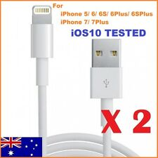 USB 8Pin Data Lightning Cable Charger for iPhone 5 6 7 iPad 4 Mini (White) 1m