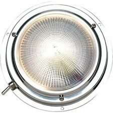 Seachoice Polished Stainless Steel Bright White LED Dome Light. Shipping is Free