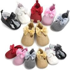Newborn Girl Toddler Baby Soft Sole Leather Mini Shoes Moccasin Prewalker Shoes