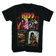 Kiss: Playing Cards T-Shirt   Free Shipping  Official