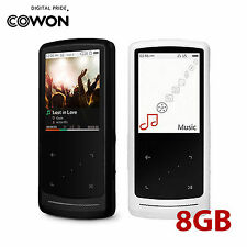 """COWON iAUDIO 9 Plus LCD Touch 2"""" 320x240 MP3 Digital Media Player 8GB 2 Colors"""