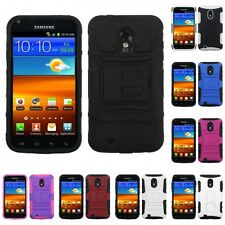 For Samsung Epic Touch 4G D710 Hybrid IMPACT Hard TUFF Hybrid Case Phone Cover
