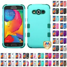 For Samsung Galaxy Avant G386 Hybrid TUFF IMPACT Phone Case Hard Rugged Cover