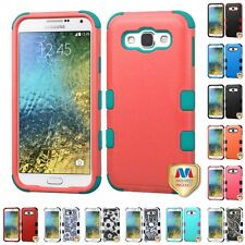 For Samsung Galaxy E5 S978L Hybrid TUFF IMPACT Phone Case Hard Rugged Cover