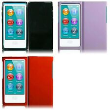 For Apple iPod Nano 7th Gen Rubberized Matte Snap-On Hard Case Phone Cover