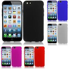 For Apple iPhone 6 (4.7) TPU Rubber Flexible Phone Skin Case Cover