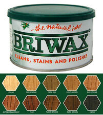 Briwax Original Furniture Wax 16 oz & 7 lbs - Multiple Colors