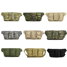Tactical Molle Multipurpose EDC Sports Portable Waist Pouch Case Shoulder Bags