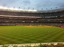 2 Tampa Bay Rays vs New York Yankees 4/12 Tickets 3rd ROW Sec 236 Yankee Stadium