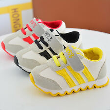 Kids Boys Girls Running Shoes Baby Toddler Infant New Causal Striped Sport shoes