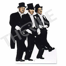 """The Three Stooges """"Tuxedo"""" - Advanced Graphics Life Size Cardboard Standup NEW"""