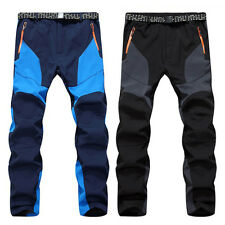 Outdoor Men's Hiking Climbing Trousers Warm Snow Ski Snowboard Pants Waterproof