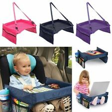 Portable Child Snack Play Tray for Car Seat Plane and Buggy Toddler Travel