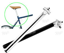 25.4/27.2Mm 350Mm Pin Seat Post Adjustable For Bmx Bike Mountain Cycle Sporting