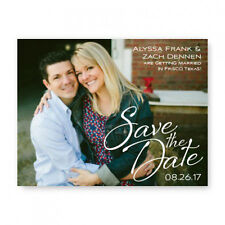 Wedding Announcements Set of 10 Flirt Photo Save the Date Cards AA8216