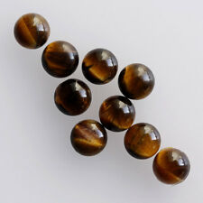 4MM Round Shape, Tiger Eye Calibrated Cabochons AG-226